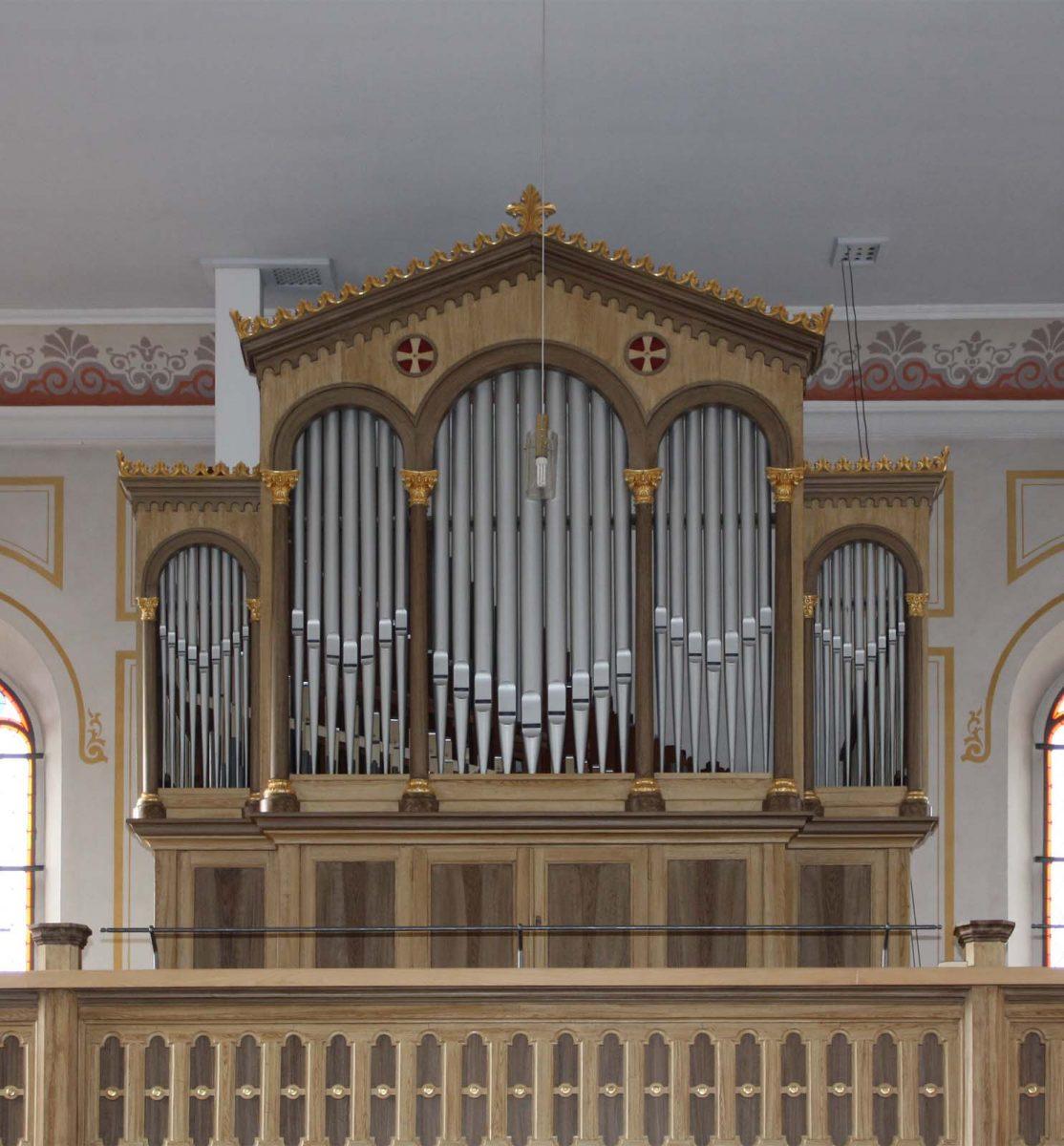 Knauf-Orgel in Buttlar/Rhön