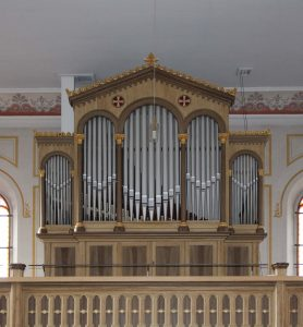 Knauf-Orgel in Buttlar/Rhön