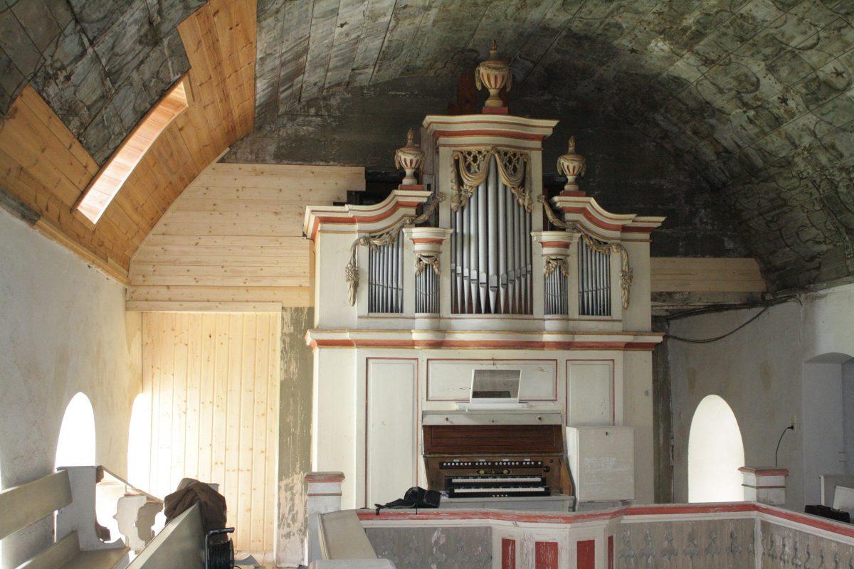 Rühlmann-Orgel in Großzöberitz
