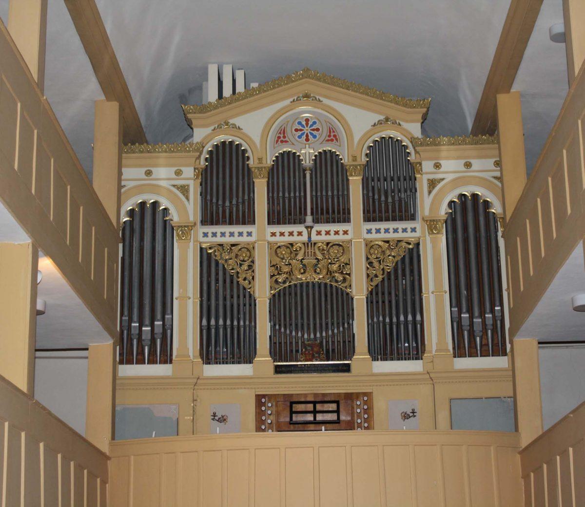 Peternell-Orgel in Denstedt