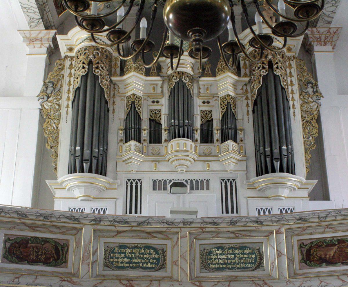 Ratzmann Orgel Finsterbergen
