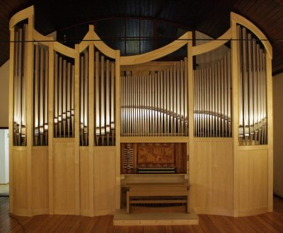 Rühle Orgel im Theodor-Fliedner-Heim Berlin-Mahlsdorf