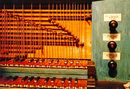 Orgel in Schönfels