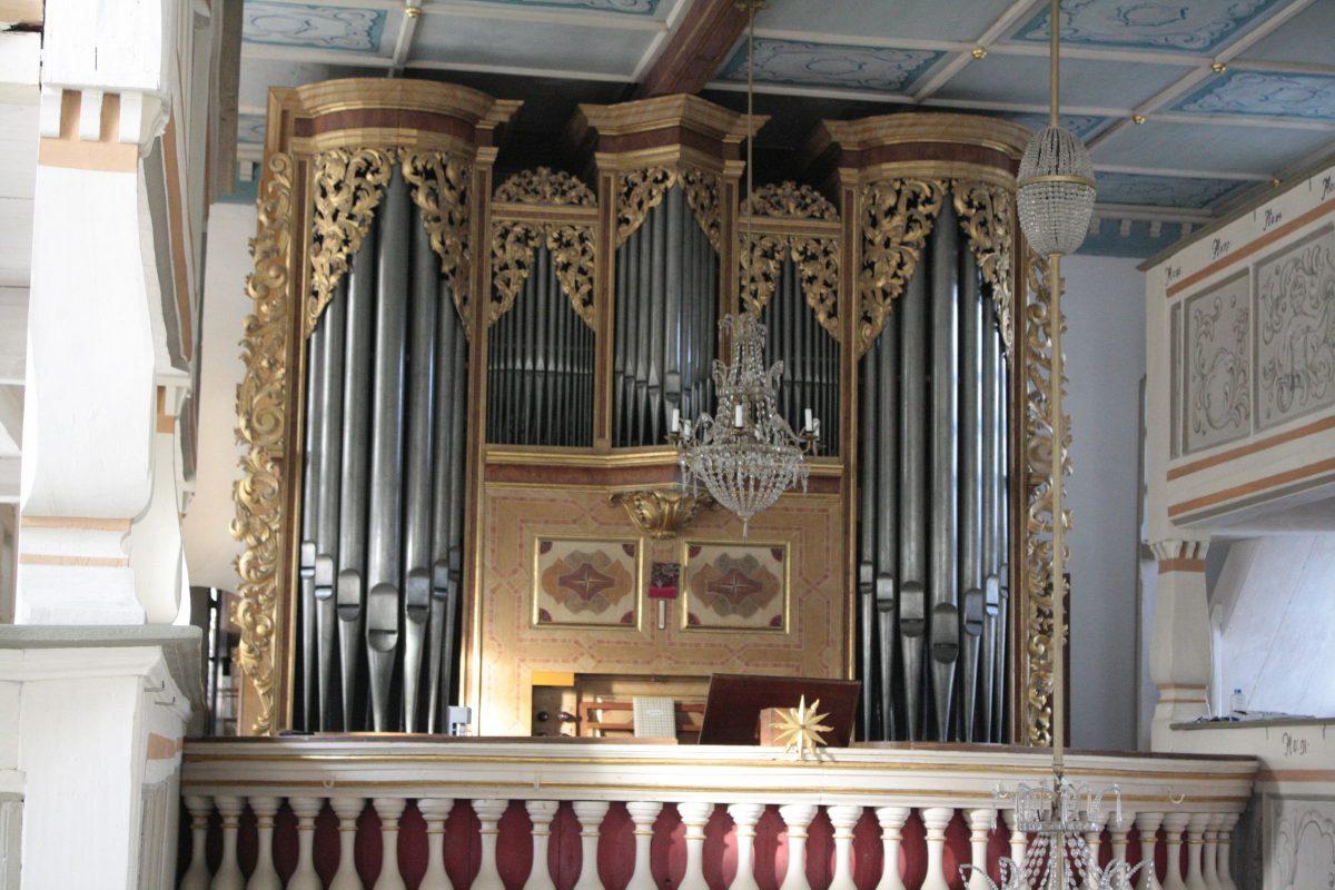 Silbermann-Orgel Pfaffroda